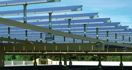 Canopy solar project, Chevron Energy Solutions