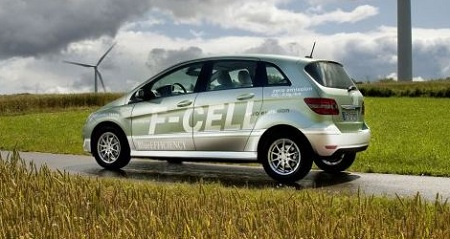 Hydrogen fuel cell vehicle, Mercedes-Benz, F-CELL