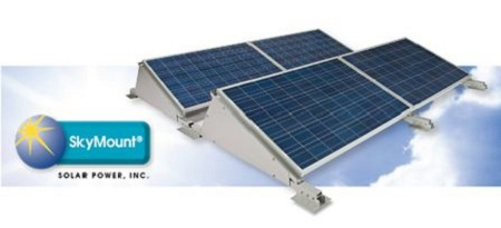 Rooftop solar, SkyMount racking system, Solar Power Inc.