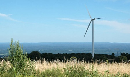 Wind turbine, New York State, small wind