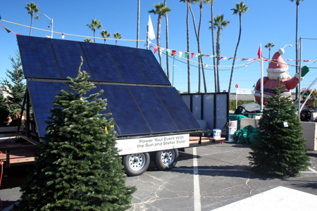 Solar Tree Lot