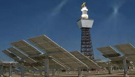 Solar power tower, concentrating solar, solar thermal, SolarReserve