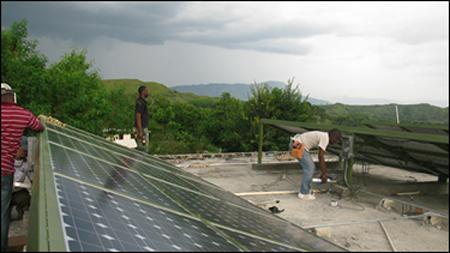 Solar Panels Haiti