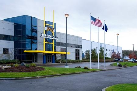 SolarWorld, Hillsboro, Oregon, 1,000 workers