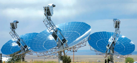 concentrating solar power technology, suncatcher, sterling energy systems