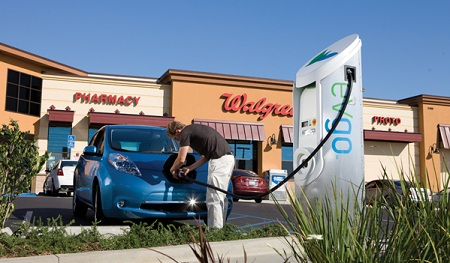 eVgo, Walgreen's electric-vehicle charging station