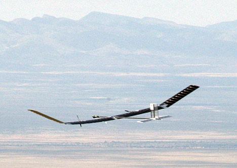 zephyr solar electric airplane