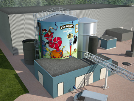 Ben and Jerry's Bio-Digester