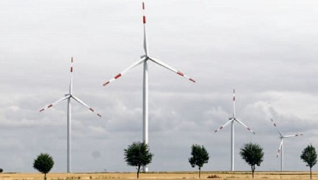 2.5-megawatt wind turbine, GE, Romania