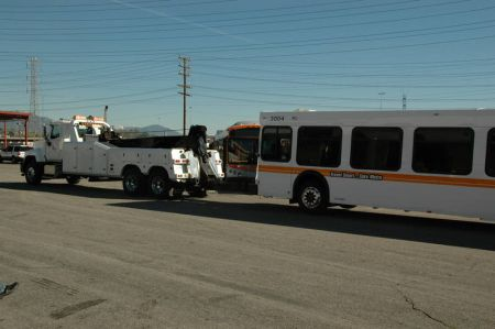 Metro's last diesel bus