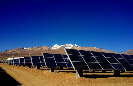 Llasa Tracking Solar Project OSolar