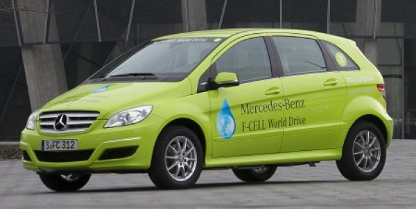 Mercedes-Benz F-CELL, world drive