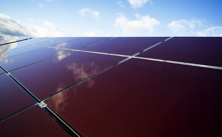 utility-scale thin-film solar, Masdar PV, Germany