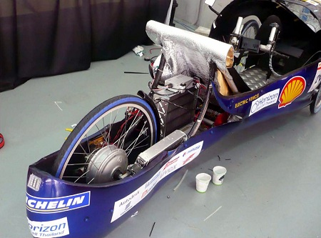 Horizon fuel cell in Shell Eco-marathon competition