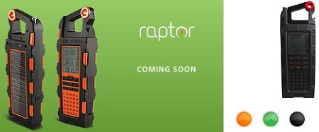 Eton Raptor solar-powered adventure tool