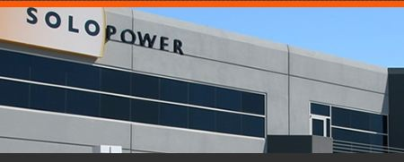 Thin-film solar panel manufacturer SoloPower