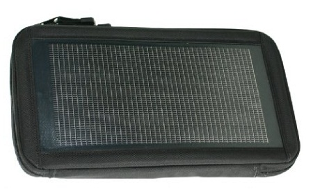 Solar-powered tablet carrying case, Eclipse Solar Gear