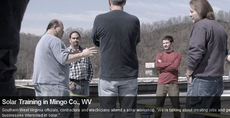 JOBS Project, solar, West Virginia
