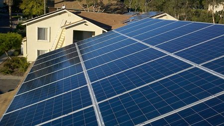Affordable housing solar installation, San Diego, Everyday Energy