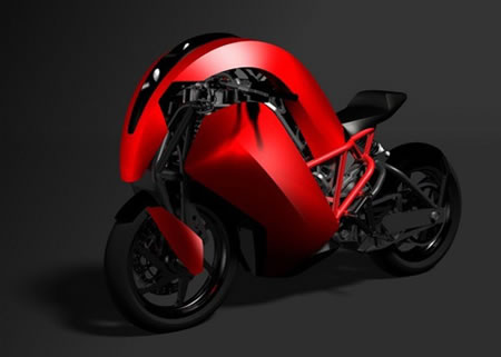 Agility Saietta electric motorcycle
