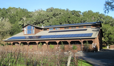 solar power, winery, Hafner Vineyards, Solar Craft