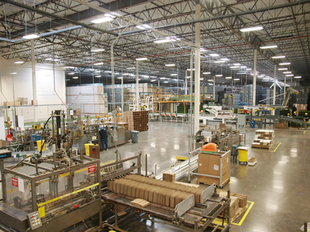 Verallia North America warehouse