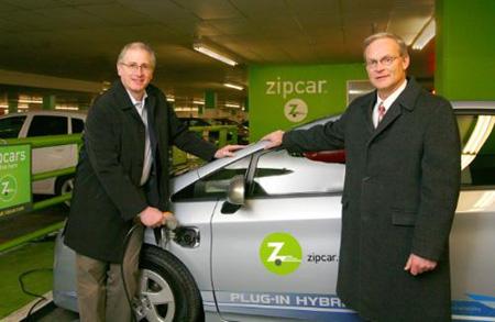 Zipcar Prius PHV