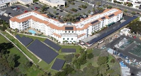 largest assisted-living center solar system