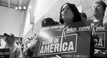 BlueGreen Alliance jobs made in America