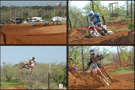 motocross track, wind power, texas