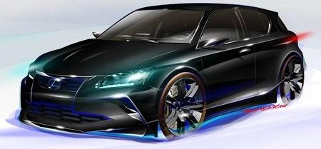 CT 200H Lexus, Chicago Auto Show, Five Axis