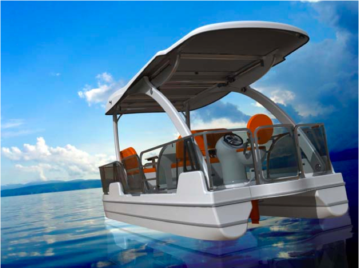 image via Tamarack Electric Boats