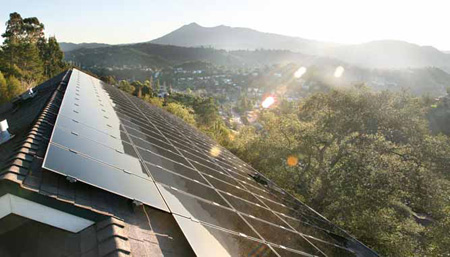 Home solar leasing programs, SolarCity
