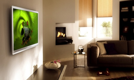 big-screen televisions, energy efficiency, Philips