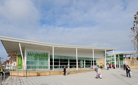biomass plant at supermarket, Waitrose