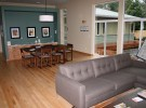 Portland Water House living/dining area