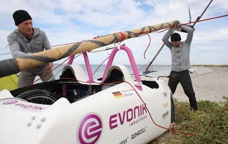 wind powered trip across Australia, Wind Explorer