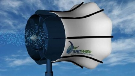Power on Demand, WindTamer, wind turbine