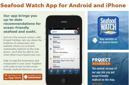Seafood Watch Android App