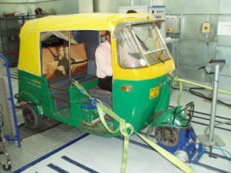Auto-Rickshaw Lab Test