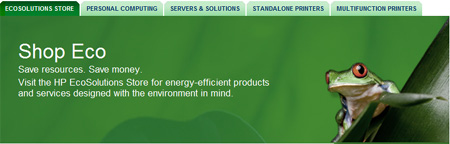 HP EcoSolutions Store