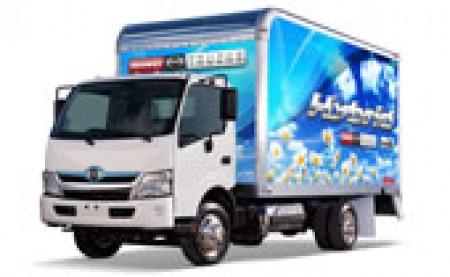 Hino Hybrid Truck