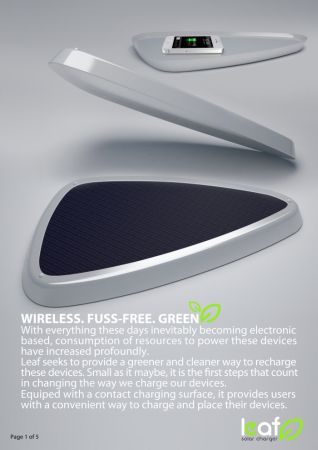 Wireless Solar Charger Drops The Adapter Earthtechling