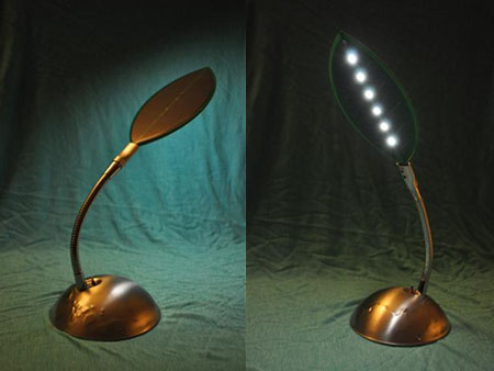 Lumileaf desk lamp