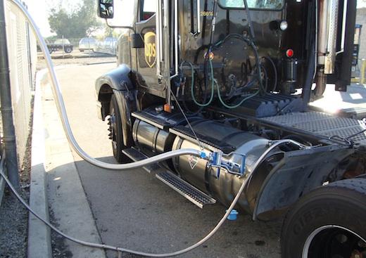 UPS LNG Truck