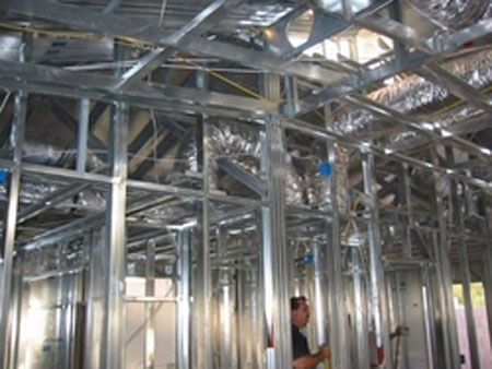 Inergy Homes steel-framing