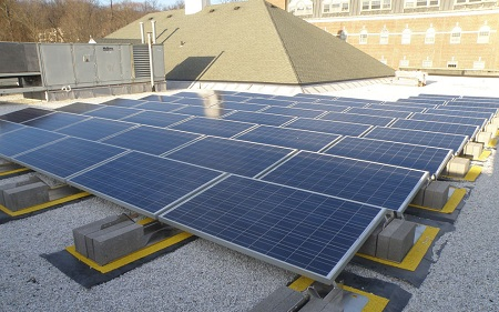 solar power project, Morris County, New Jersey