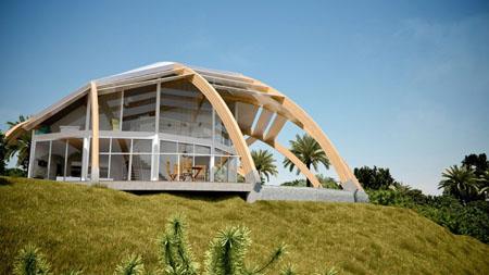 Pearl Passive solar house