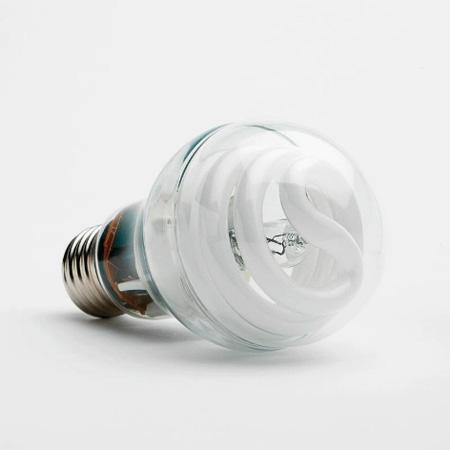 GE Hybrid Halogen-CFL bulb