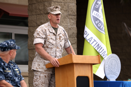 Camp Pendleton LEED ceremony